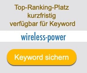 wireless-power Anbieter Hersteller