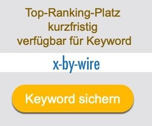 x-by-wire Anbieter Hersteller
