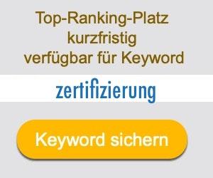 zertifizierung Anbieter Hersteller